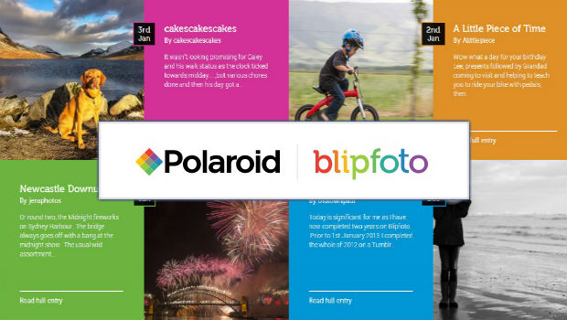 A photo sharing website based in Edinburgh, Scotland has tied up a deal with photography giant Polaroid which will see it relaunch in 170 countries worldwide. Blipfoto...